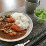 【家庭菜園5】小松菜とサラダミックス収穫&料理に使ってみた