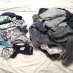 服の断捨離!ゴミ袋3つ分捨てました